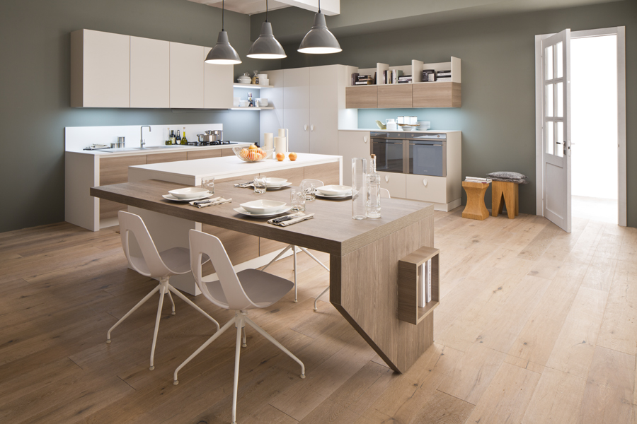 Cucina mango di arrex in laminato semplice essenziale e conveniente - Arrex cucine catalogo ...