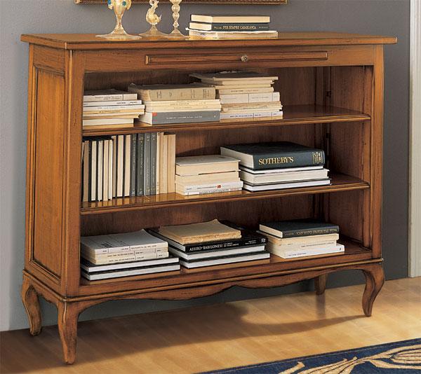 Librerie in legno robusto sia aperte che chiuse paola for Mobili per lo studio di casa