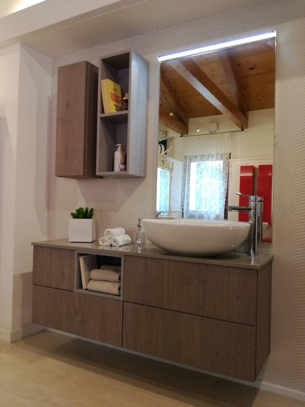 Bagno moderno kondor effetto legno - Bagno effetto legno ...