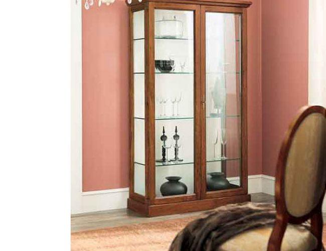 vetrina 2 porte semplice