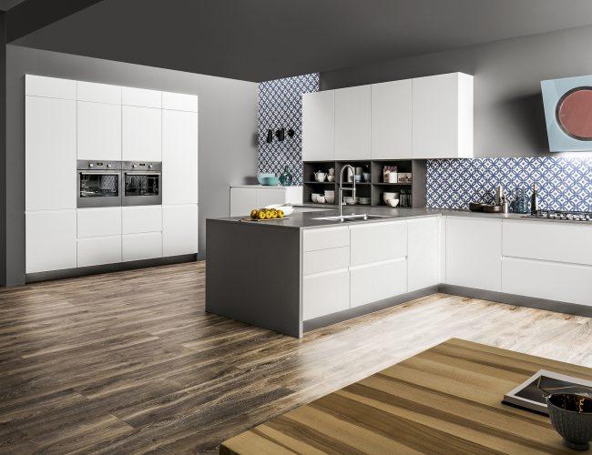 cucina moderna in pet Atlanta e Dakota