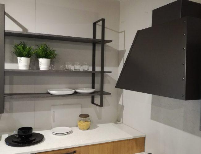 accessori cucina in metallo colore antracite