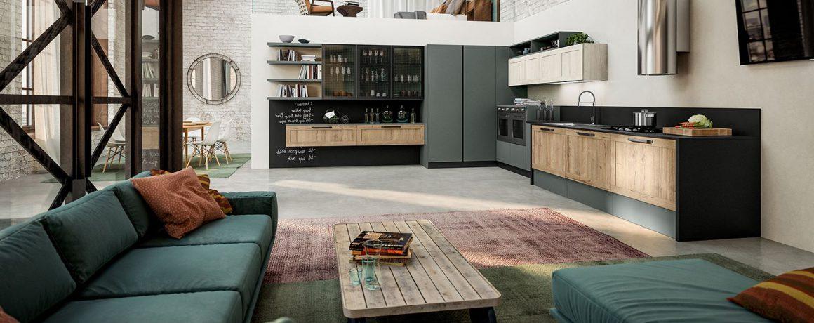 Cucina dal Design Industriale