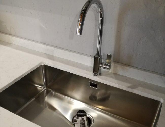 lavello in acciaio Barazza