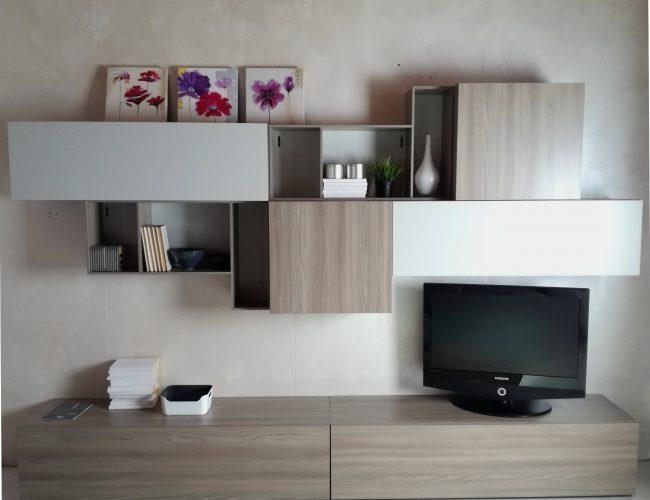 parete tv moderna