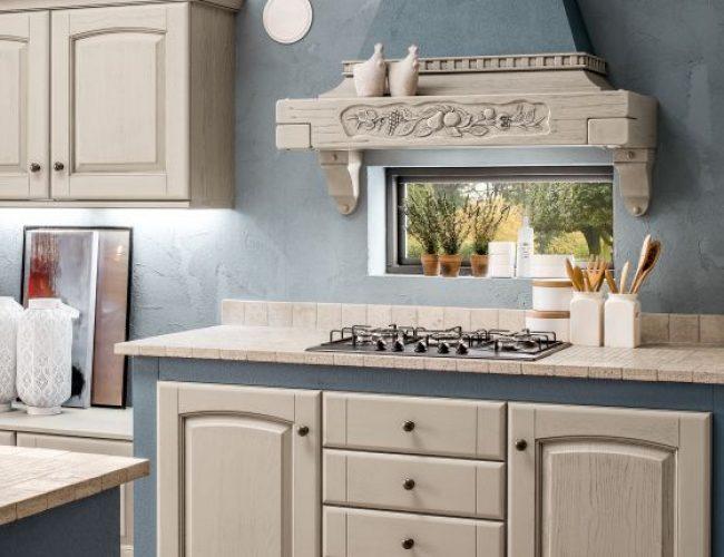 Magda cucina in muratura colori caldi
