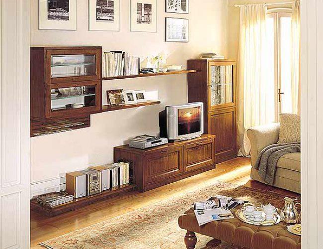 Soggiorno new classic idea solo da - Soggiorni classico moderno ...