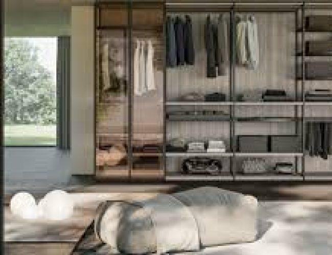 armadio e cabina moderna