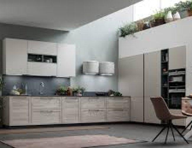 cucina Twin con colonne filo muro_Paola Elisa Mobili soluzioni a misura