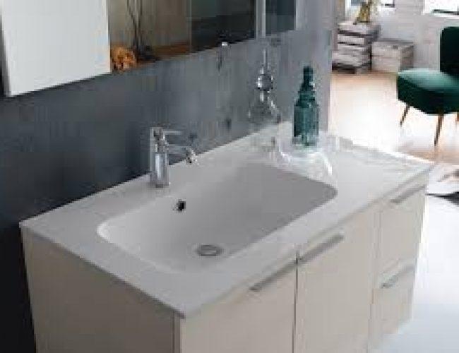 lavabo per bagno facile da pulire