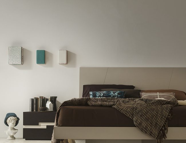 letto design moderno alto da terra