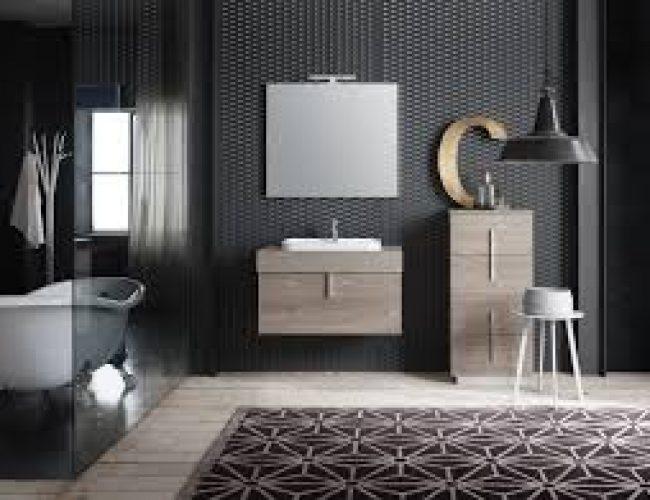 mobile per bagno di piccole dimensioni