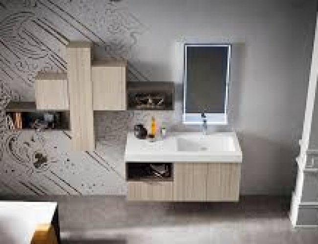 pensili particolari per il bagno