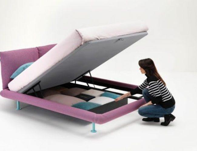 secret box su letti Noctis da Paola Elisa Mobili