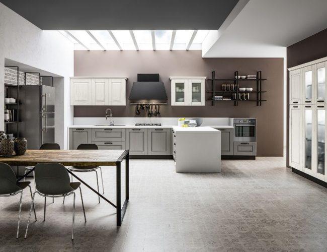 stile industriale in cucina da Paola Elisa Mobili
