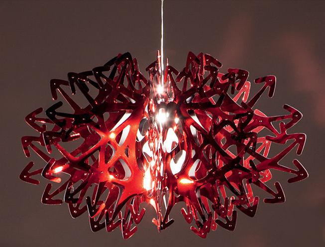 Devil-Slamp-lampada a sospensione di grande volume