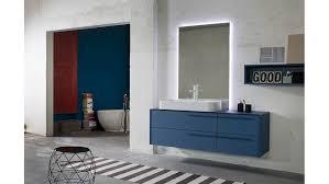 bagno laccato blu