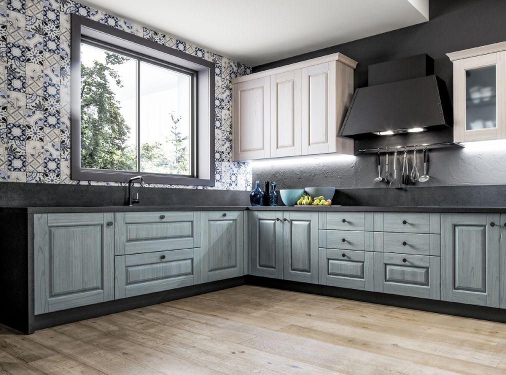 cucina laccata in tutti i colori modello Nora da Paola Elisa Mobili